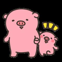 ぶたのあんこちゃん(主婦編)