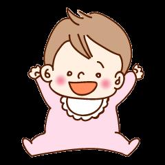 【赤ちゃんとママのスタンプ集(3)】