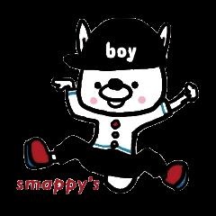 """smappy's スタンプ """"ウサギのジェイミー"""""""
