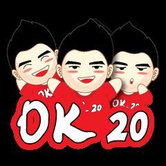 [LINEスタンプ] OK20 (1)