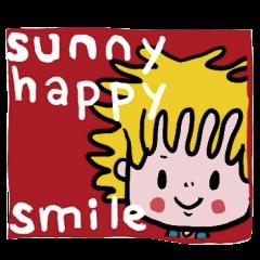 """smappy's スタンプ """"笑顔のサニー"""""""