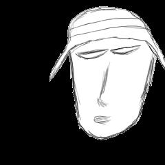 顔で表現するスタンプ 女性編