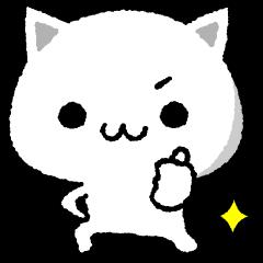 シンプルな猫