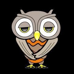 おとぼけフクロウ