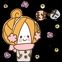 かわいい!ガーリースタンプ(秋冬編)
