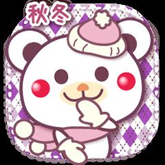秋冬/チョコくま日常セット