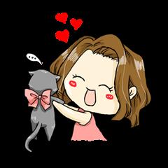 セレブナナちゃんと猫ちゃんの日常
