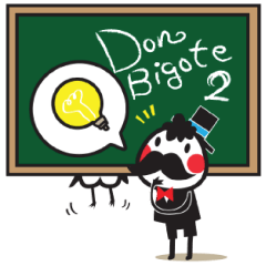 Don Bigote ドン・ビゴテ 2 日本語&英語