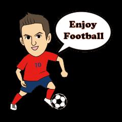 サッカーを楽しむ人達の日常