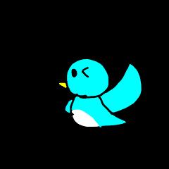 鳥さんのスタンプ