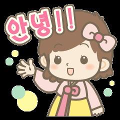 Koreanスタンプ@あまっち屋