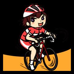 自転車乗りのためのスタンプ