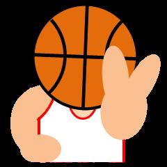 バスケットボール試合速報スタンプ