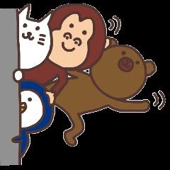 文字なし☆ほのぼのスタンプ