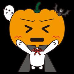 ハロウィンのかぼちゃ君