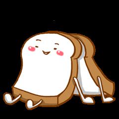 食パンくんでお返事