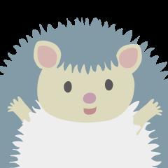 """ハリネズミ""""ツンツン"""" / Lovely Hedgehog"""