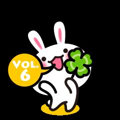 [LINEスタンプ] RURUのゆきうさ Vol.6