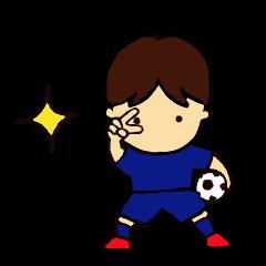 がんばれサッカー部