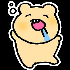 出っ歯のクマ