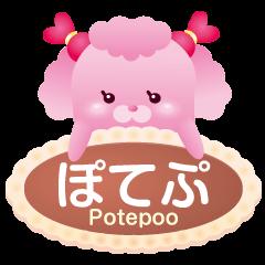 ぽてぷ(ぽてぽてプードル)