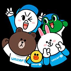 LINE X UNICEF スペシャルエディション