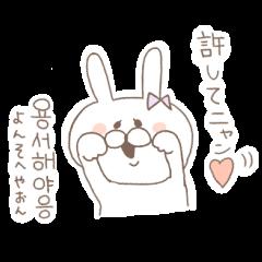 ましまろうさぎ(韓国語)