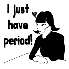 Having period