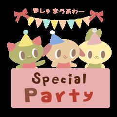 ましゅまろあわー Special Party
