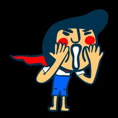 習慣少年スタンプ No.3
