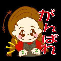 みつあみちゃんの手話 ver.1