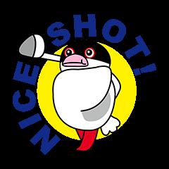 桜文鳥の文ちゃんのゴルフ