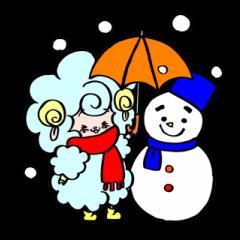 ひつじのメリーさん 真冬の恋バージョン