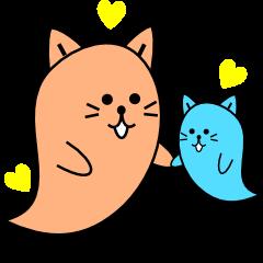 「ニャンばけ」は優しい猫のオバケちゃん。