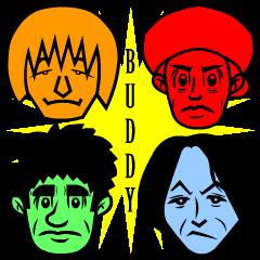 BUDDY スタンプ