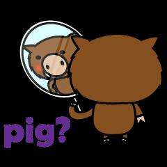 その日の小野豚(日本版)