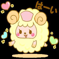 かわいい羊のめぇナース