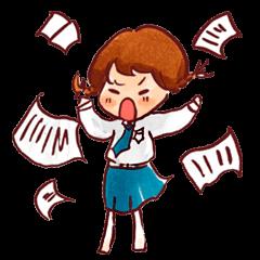 Ao-chan | Student life Ver.2
