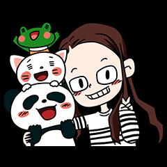 エミーと友達