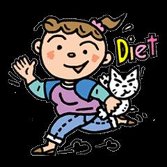 ポチャMomの、ダイエット。