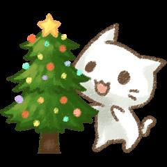 メリークリスマス!猫ちゃん