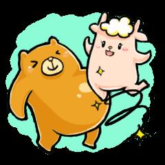 熊太とメメコ(爆笑生活篇)