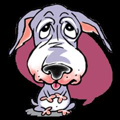 """""""JACKO"""" THE EMOTIONAL DOG"""