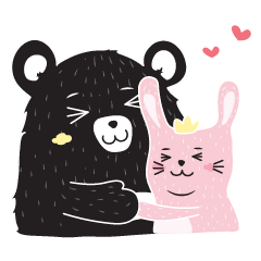 Warm Bear and Sweet Rabbit