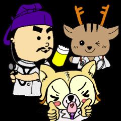 [LINEスタンプ] 奈良医大「白橿生祭」オリジナルスタンプ