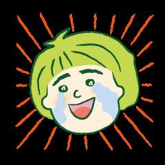 ☆緑山一家のスタンプ☆