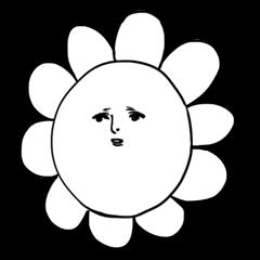 ゆる~いお花さん
