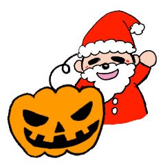 Party time with Halloween and Christmas