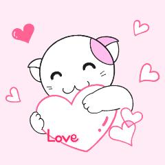 福猫の桜ちゃん 愛をつかめ