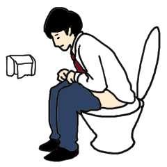 胃腸が弱い人用スタンプ